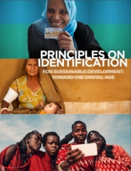 Principles on Identification for Sustainable Development cover