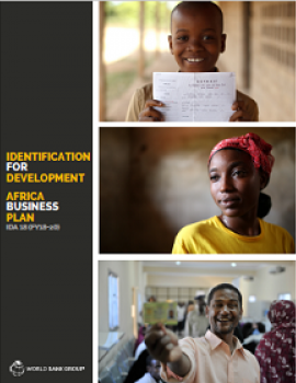 Identification for Development: Africa Business Plan cover