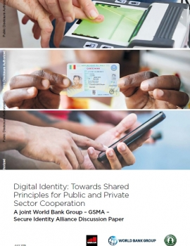Digital Identity: Public and Private Sector Cooperation cover