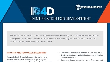 ID4D Initiative Brochure