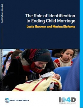 The Role of Identification in Ending Child Marriage: Identification for Development cover