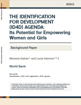Identification for Development: Its Potential for Empowering Women and Girls cover