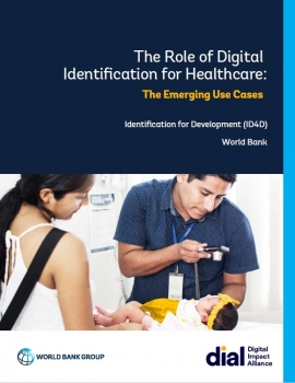 The Role of Digital Identification for Healthcare: The Emerging Use Cases cover